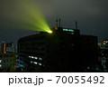 浜松城 警戒 ライトアップ 市役所から 70055492
