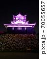 浜松城 乳がん月間 ピンク 70055657