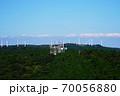 三重県 青山高原 レーダーサイトと風力発電(初秋) 70056880