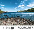 能登半島、日本海の風景 70060867