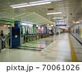 地下鉄の駅構内 本駒込駅 70061026
