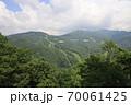 夏の志賀高原東館山、西館山の風景 70061425