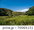 青空の小網代の森の風景 10月 70064131