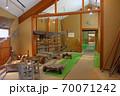 大阪城残石記念公園、工程を棟ごとに分けてある施設の館内の様子(運搬棟)・小豆島・北浦港 70071242