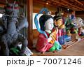 大阪城残石記念公園、伊喜末八幡宮秋祭りのだしの展示の様子(小海の舞台棟)・小豆島・北浦港(2) 70071246