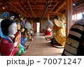 大阪城残石記念公園、伊喜末八幡宮秋祭りのだしの展示の様子(小海の舞台棟)・小豆島・北浦港(3) 70071247
