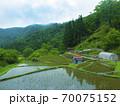 鳥取県 つく米の棚田(日本の棚田百選) 70075152