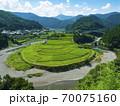 和歌山県 あらぎ島の棚田(日本の棚田百選) 70075160