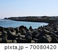 どこまでも続くテトラポットの海岸 70080420