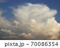 発達する入道雲、雄大積雲 70086354