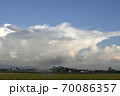 発達する入道雲、雄大積雲、積乱雲 70086357