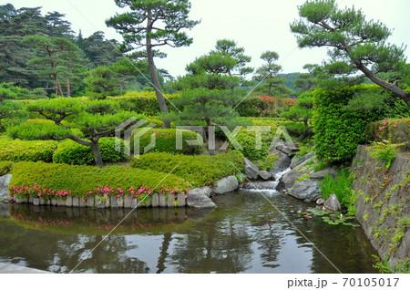 国指定史跡・松平定信が築造した日本最古の公園・南湖公園 70105017
