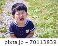 イヤイヤする幼児 70113839