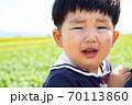 泣き顔の幼児 70113860