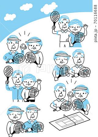 シニアテニスセット 70116688