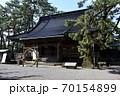 石川県輪島市 重蔵神社 茅の輪くぐり 70154899