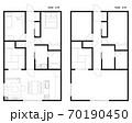 マンション・住宅の間取り図 70190450