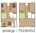 マンション・住宅の間取り図 70190452