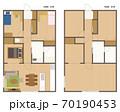 マンション・住宅の間取り図 70190453