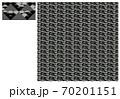 Wi-Fi和柄・鱗・黒 70201151