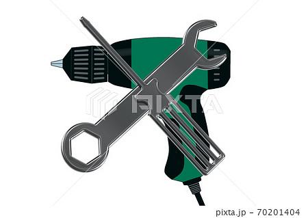 電動ドライバーの修理イメージ 電気ドリルのメンテナンスイメージ 70201404
