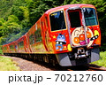 あかいアンパンマン列車・南風 土讃線:大杉~土佐北川 70212760