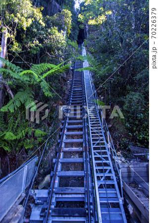 オーストラリアの世界一急傾斜な鉄道線路 70226379