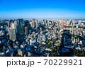 六本木ヒルズから眺める東京の街並み 70229921