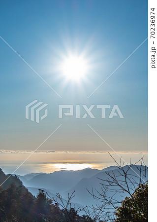 【お正月】奈良県・玉置山 初日の出 70236974