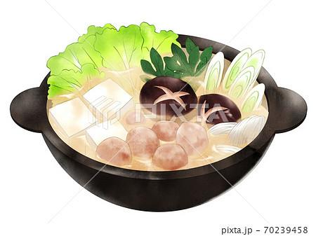 豆乳鍋(湯気なし) 70239458