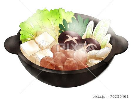 寄せ鍋(湯気あり) 70239461