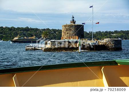 世界三大美港に残る昔の牢獄Fort Denison 70258009