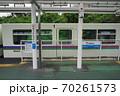 10月 所沢07遊園地西駅ホームと電車2020年 70261573