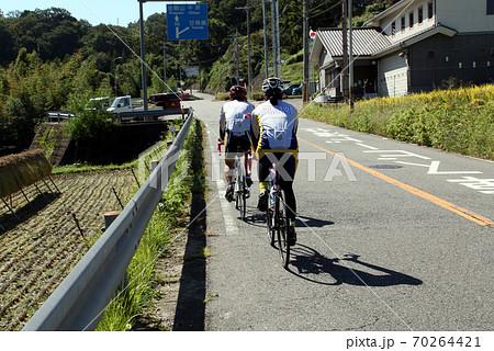 大阪唯一の村 千早赤阪村のツーリング 70264421