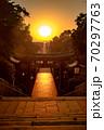 宮地嶽神社、光の道 70297763