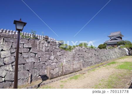 修復中の熊本城の西出丸(2020年9月) 70313778