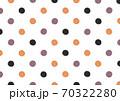 【水彩素材】水玉イラスト〈ハロウィンカラー〉 70322280
