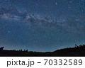 群馬国道最高地点での天の川 70332589