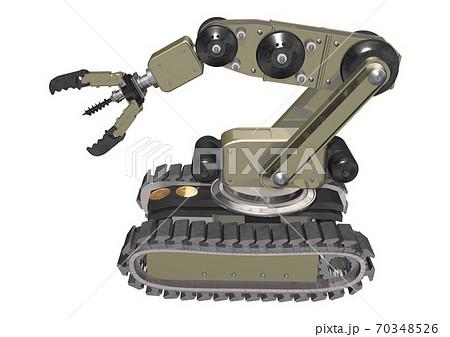 遠隔操作 探査 掘削 サンプル回収ロボット 70348526