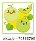 なちゅらるズ メロン果実で収穫のご案内 70366795
