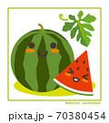 なちゅらるズ すいか果実で収穫のご案内 70380454