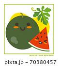 なちゅらるズ 黒玉すいか果実で収穫のご案内 70380457