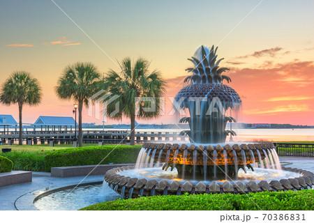 Charleston, South Carolina, USA at Waterfront Park 70386831