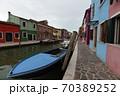イタリア・ヴェネツィア・ブラーノ島の街角 70389252