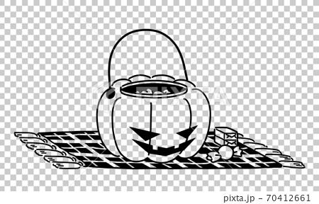 Pumpkin lantern accessory case 70412661