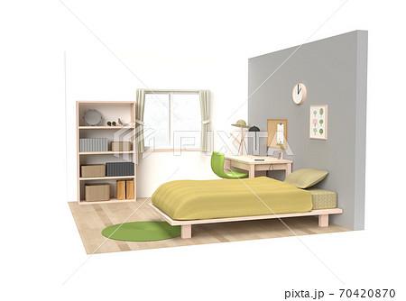 一人で楽しむ子供部屋 70420870