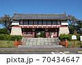 京都 伏見桃山城 大手門 70434647