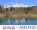 5月の野麦峠から望む乗鞍岳 70437535