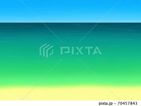 エメラルドグリーンの海をイメージした背景 70457843