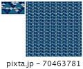 Wi-Fi和柄・鱗・藍 70463781